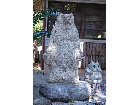 tanuki elders in Pom Poko