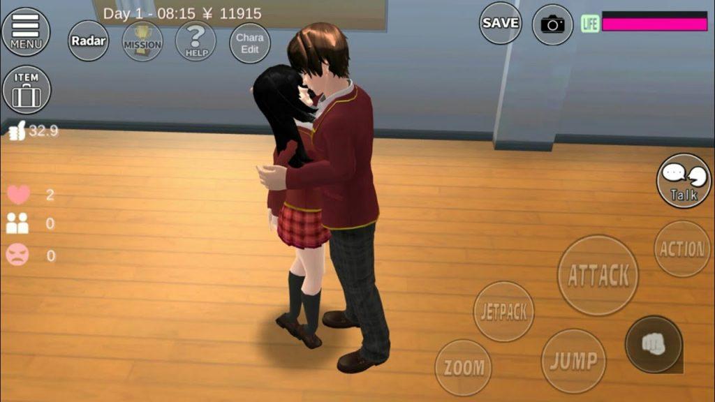 Sakura School Simulator Game with Multiplayer